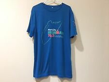 Ironman Cozumel 70.3 FINISHER Tshirt Men's Blue Grande/Large Shirt - I