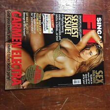 2003 Oct  FHM Singapore magazine Carmen Electra , Asian contents , sexy