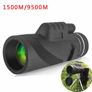 Monocular 40x60 Powerful Binoculars Zoom Glasses Handheld Telescope HD