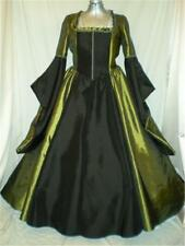 "Tudor Renaissance Madrigal Boleyn Dress Gown, Your Size Choice, Busts 34"" - 48"""