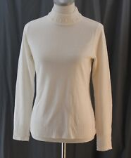 Covington, Small, 100% Acrylic, Ivory Misses Mock Neck Sweater, New with Tags