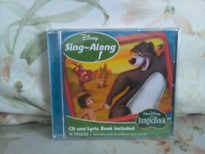 Disney sing a long  - The jungle book - Cd - new - free uk postage