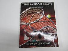 Usrsa Stringer'S Digest 2008. Tennis & Indoor Sports. Volume: Spring / Summer