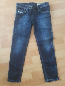 Diesel Girls Jeans - Age 6 - Skinny Stretch - Ripped Blue