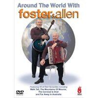 AROUND THE WORLD WITH FOSTER & ALLEN - Music Video Concert - New UK Region 2 DVD