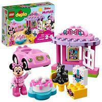 LEGO DUPLO Disney Minnie's Birthday Party Building Kit (21 Piece) Toy For Kids