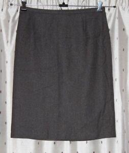 "M&S  St Michael Ladies 100% Pure New Wool Skirt ~ Size 16~31"" Waist ~ 24.5"" Long"