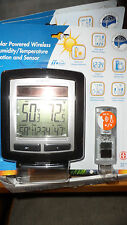 La Crosse Solar Powered Wireless Temperature Weather Station &Sensor WS-6010U-IT