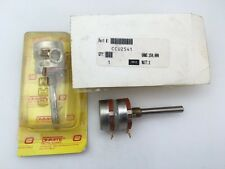 CCU2541 Ohmite, 2 Watt 250K Ohm 10%, Rotary Metal Potentiometer