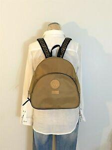 VERSACE PARFUMS Copper/Bronze Nylon Backpack
