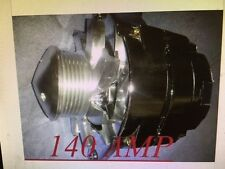HIGH-OUTPUT-NEW-ALTERNATOR-GM-HOTROD-CHROME1-ONE-WIRE-6G-PULLEY-Chevrolet-CAMARO