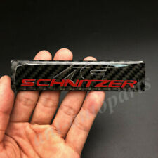 Carbon Fiber AC SCHNIZER Logo Car Trunk Rear Fender Badge Emblem Decal Sticker