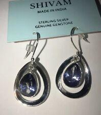 Shivam Made In India Sterling Silver~Blue Mystic Quartz-NEW