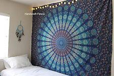 Indisch Mandala Tagesdecke Wandbehang Decor böhmischer Tapisserie-Strand Wurf