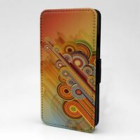 For Apple iPod Touch Flip Case Cover Vintage Retro Art - T2491