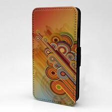 For Apple iPod Touch Flip Case Cover Vintage Retro Art - T2491