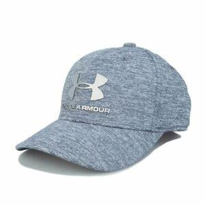 Accessories Boys Under Armour Junior Adjustable Strap Twist Cap in Grey