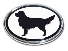 Golden Retriever Chrome Car Truck Emblem High Quality Made in the USA! *NEW*