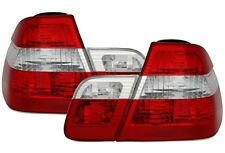 FEUX ARRIERE BLANC ROUGE LOOK PHASE 2 BMW SERIE 3 E46 98-01 BERLINE TOUS MOD