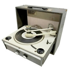 Vintage! ~ Philco P-1442-124 Solid State Portable Vinyl Record Player Turntable