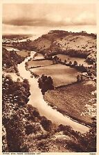 BR102136 photochrom river wye from symonds yat  uk