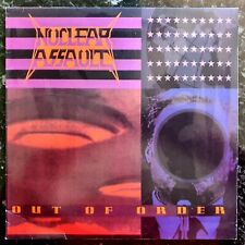 Nuclear Assault - Out Of Order - Rare Unplayed 1991 Thrash Metal Vinyl LP
