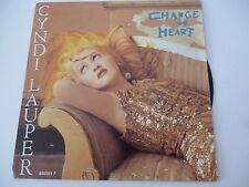 CYNDI LAUPER Change of heart PRT 650201 7 CB 111 RRR