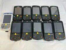 Lot 11 Motorola Symbol Zebra Mc55A0 Mc5590 Mc55N0 Wireless Laser Barcode Scanner