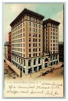 Vintage View of University Block, Syracuse NY c1905 Postcard M2