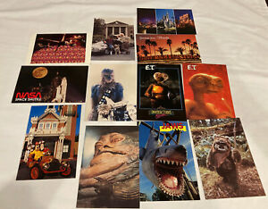 11 Star Wars Walt Disney Universal Studios NASA E.T. Jaws Vintage Postcards Lot