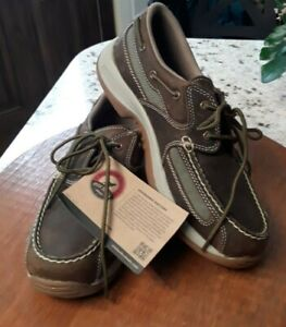 NWT RED WING IRISH SETTER #3819 MEN'S BROWN MOCCASINS/SHOES SIZE 10 D MINT COND