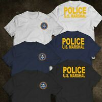 NEW US United States Marshal Police Military Special Force Department T-Shirt