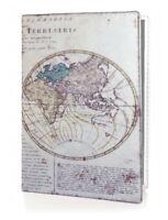 OPTEXX® RFID ReisePass Schutzhülle Alte Weltkarte