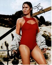 RONDA ROUSEY Signed SPORTS ILLUSTRATED SWIMSUIT Photo w/ Hologram COA