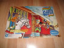 LA VUELTA AL MUNDO DE WILLY FOG ALBUM DE DANONE CON 96 CROMOS DE 1983 COMPLETO