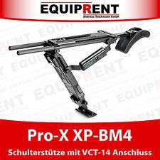 Pro-X XP-BM4 Schulterstütze mit VCT-14 Stativanschluss ähnlich VCT-SP2BP (EQ474)