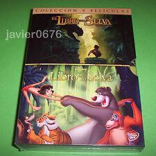 EL LIBRO DE LA SELVA DISNEY COLECCION 2 PELICULAS EN DVD PACK NUEVO Y PRECINTADO