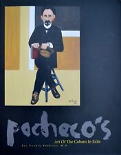 """Ferdie Pacheco Autographed Book """"Art of the Cubans in Exile"""" The Fight Doctor"""