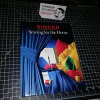 VINTAGE SINGER SEWING FOR THE HOME SEWING REFERENCE LIBRARY HARDCOVER BOOK USED