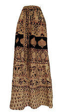 Indian Hand block Printed long Skirt Women's Cotton Summer Ethnic wear