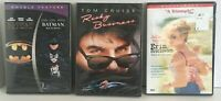 3 Sealed Dvd's Batman Returns, Risky Business, Erin Brockovich DF40