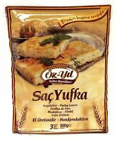 2 x 500 g Öz-Yil Runder Blätterteig Filoteig Teigblätter - Sac Yufka