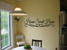 HOME SWEET HOME Vinyl lettering entry way Wall Decal Sticker Home Decor quote