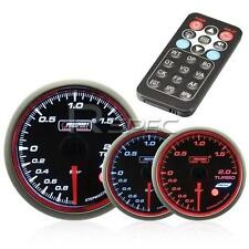 Prosport 60mm Turbo Boost Gauge BAR Smoked Stepper with Remote
