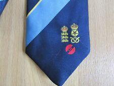 Kim BARNETT Derbyshire & Inghilterra 1992 KJB ANNO Cravatta Cricket Benefit da Tie Rack