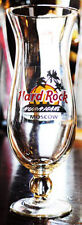 """Hard Rock Cafe Moscow Russia Hurricane Cocktail Glass Barware Glassware 9 3/8"""""""