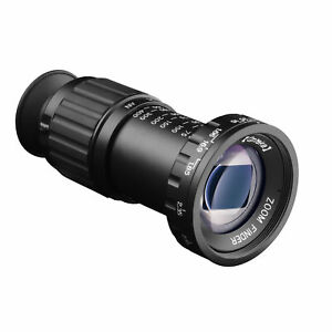 Opteka 11x Zoom HD Multicoated Metal Micro Director's Viewfinder for Film Making