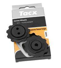 Tacx T4085 Sleeve Bearing Jockey Wheels, Pulley Set for SRAM 9.0, 7.0. 5.0, 4.0