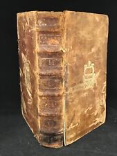 Early Printing Aristophanes 1608 Leather Folio Edition