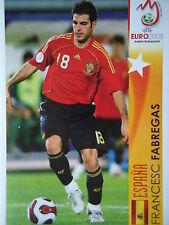 Panini 504 Francesc Fabregas Espana UEFA Euro 2008 Austria - Switzerland